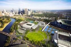Melbourne Park Refurbishment Stage 2 Rod Laver Arena